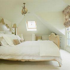 Love this attic loft!