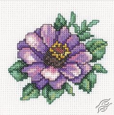 Zinnia - Cross Stitch Kits by RTO - H248