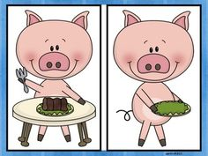 This Little Piggy Nursery Rhyme Set - perfect for centers