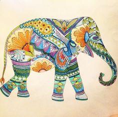 coloring ideas-elephant