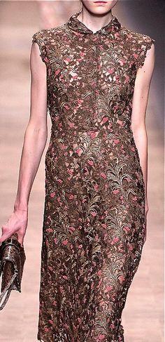 Valentino. Love this fabric.
