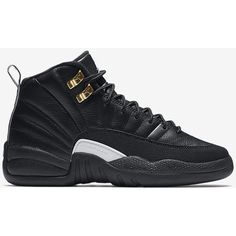Air Jordan Retro 12 (3.5y-7y) Kids' Shoe . Nike.com ($140) ❤ liked on Polyvore featuring shoes, s h o e s, sneakers and jordans