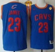 Cavaliers  23 LeBron James Light Blue The Finals Patch Stitched Revolution  30 NBA Jersey 3c527aac1
