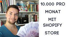 Ich zeige dir Shopify deutsch Stores die mindestens 10000 Euro pro Monat verdienen und das in Deutschland - schau dir das Video an und starte deinen Shop