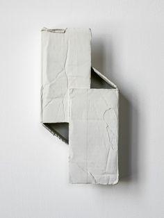 Ricky Swallow @ Modern Art, London: ex-chamber memo (overseas) 5 Abstract Sculpture, Sculpture Art, Collages, Eye Study, High Art, Monochrom, Process Art, Contemporary Ceramics, Texture Design