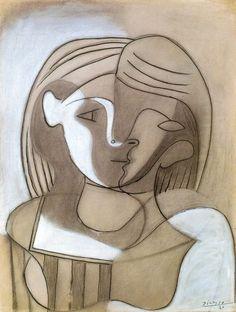 Pablo Picasso: Tête de femme (1926).