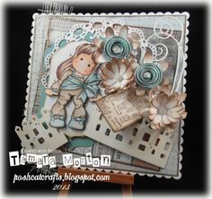 I am a crafting addict! Come and join me on my crafting journey Magnolia Stamps, Cat Crafts, Cat Gif, I Card, Decorative Boxes, Card Making, Challenges, Bows, Frame