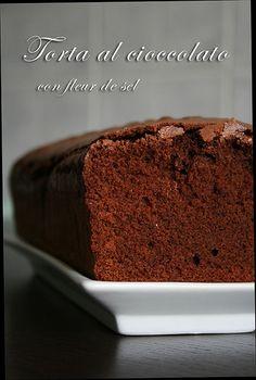 Bizcocho de chocolate con Fleur de Sel