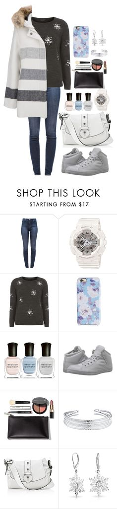"""""""Winter Outfit 2015"""" by skybeauty1109 ❤ liked on Polyvore featuring J Brand, G-Shock, Dorothy Perkins, Isaac Mizrahi, Deborah Lippmann, Converse, Bobbi Brown Cosmetics, Belk Silverworks, The Limited and Bling Jewelry"""