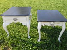 Distressed end tables for sale www.facebook.com/pastichedesigns