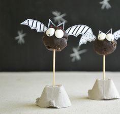 halloween donut bats