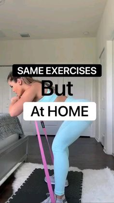 Fitness Workouts, Gym Workout Videos, Gym Workout For Beginners, Fitness Workout For Women, Fitness Goals, At Home Workouts, Fitness Tips, Band Workouts, Workouts To Get Abs