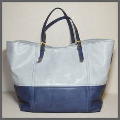 Tote bag bi-color