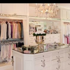 cute girly closet