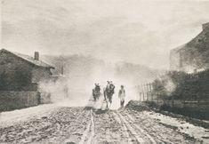 Die Kunst in der Photographie : 1899 Photographer: Léonard Misonne Title: Auf Der Landstrasse