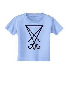 TooLoud Sigil of Lucifer - Seal of Satan Toddler T-Shirt