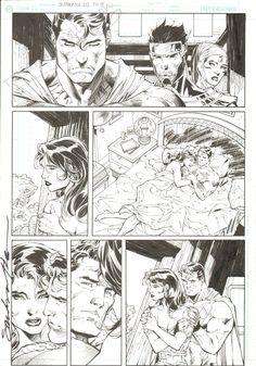 Jim Lee Superman 213 pg 8 , in Tatiana Dykes's **Jim Lee Comic Art Gallery Room - 879502