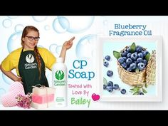 Soap Testing Blueberry Fragrance Oil- Natures Garden #blueberryfragranceoil #fragrancesoap #blueberrysoap