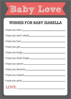 Wishes for Baby with Banner Baby Shower Game by ParraclanDesigns Baby Shower Advice, Cute Baby Shower Ideas, Baby Shower Favors, Baby Shower Parties, Baby Boy Shower, Baby Showers, Owl Shower, Shower Party, Bridal Shower