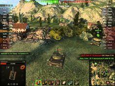 World of Tanks T-54 platoon Mines battle