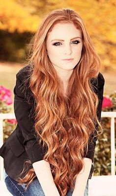 love this hair color! my hair is naturally red but I want to alter it a bit. this would just be highlights for me!