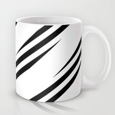 Buy Pattern black and white 2 Mug by Christine baessler. Worldwide shipping available at Society6.com. Just one of millions of high quality products available.