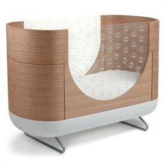 We'd like to present you one more awesome cot for your baby. This cozy cocoon-shaped cot is named Pod and offered by Ubabub. The cot stands out by the Modern Nursery Furniture, Modern Crib, Baby Furniture, Modern Kids, Modern Bar, Furniture Stores, Furniture Projects, Modern Design, Does Your Mother Know