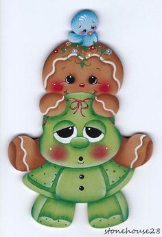 HP Gingerbread with Turtle Fridge Magnet | eBay