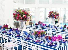 From peony wedding bouquets to cocktail hour centerpieces and reception arrangements with peonies, here are 10 great ideas using peonies for wedding decor. Peony Wedding Arrangements, Peony Bouquet Wedding, Wedding Centerpieces, Wedding Decorations, Wedding Ideas, Run For The Roses, Event Decor, Event Ideas, Decorating Blogs
