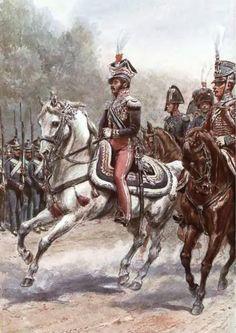 Prince Józef Poniatowski in uniform of Lieutenant-General. Gembarzewski.