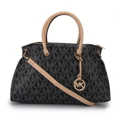 Wish You Can Find Your Favorite Michael Kors Skorpios Logo Signature Large Black Totes Here! #AllAccessKors #NYFW