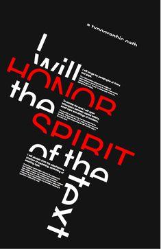 Graphic design poster graphic design , typography , poster d Typography Poster Design, Typographic Design, Graphic Design Posters, Creative Typography Design, Layout Design, Logo Design, Design Art, Text Design, Magazin Design