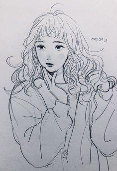 Pretty Art, Cute Art, Arte Fashion, Arte Sketchbook, Estilo Anime, Anime Sketch, Anime Kawaii, Art Reference Poses, Art Drawings Sketches