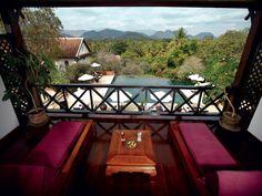 La Résidence Phou Vao. Luang Prabang. Laos.