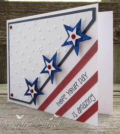 Luv 2 Scrap n' Make Cards: Red, White & Blue Blog Hop
