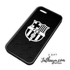 Custom case premium all iphone | FCB black and white