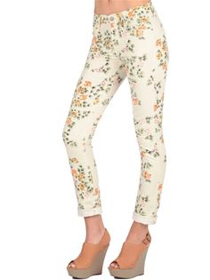 I admit it - I want floral jeans! Hello 80s!
