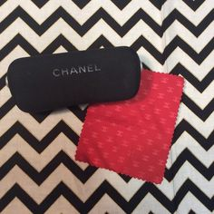 Chanel eye glass case In mint condition does not come with rag CHANEL Accessories Glasses
