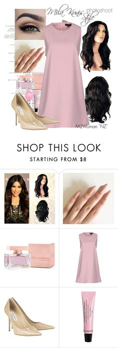 """Mila Kunis style"" by vika-garan on Polyvore featuring мода, Dolce&Gabbana, American Retro, Jimmy Choo и River Island"