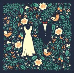 Pattern & Wedding invitation [Final version] on Behance