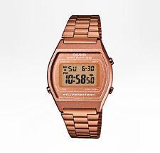 CASIO Uhr Retro Watch Digital Armbanduhr - B640WC-5AEF- rosegold - NEU