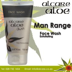 Face Wash, Cleanses, Aloe, Action, Men, Group Action, Guys, Diets, Aloe Vera
