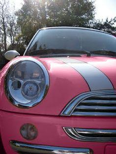 Pink Minicooper