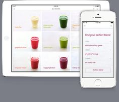 Sweet potato red pepper juice...The Blender Girl Smoothies App Preview