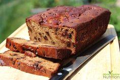 Chocolate Chip Banana Nut Bread {Paleo, Gluten Free and Grain Free}