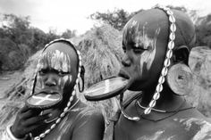 The Mursi Tribe are an ancient tribe that live in Ethiopia. Visit them on a holiday to Ethiopia and learn about their tradition and culture. Mursi Tribe, Ethiopia Travel, Around The Worlds, African, Melting Pot, Horn, People, Bucket, Pictures