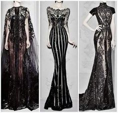 Absolutely stunning. Middle one reminds me of Beetlejuice or Jack Skellington.