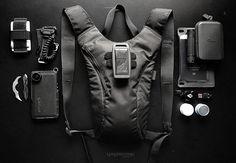 Vagabonding Minimal Backpack E.D.C. Kit