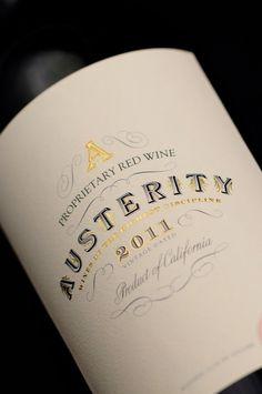Its all in the detail. Austerity on Packaging of the World - Creative Package Design Gallery