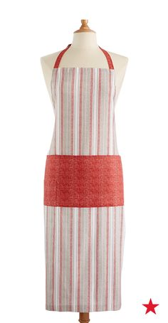 Style is a must, no matter the time or place — Martha Stewart Collection Restaurant Kitchen Apron, Only at Macy's